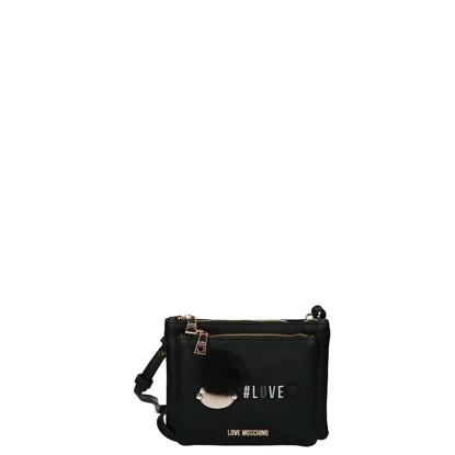Love Moschino Borsa Crossbody Bag Black For Women Online Sale :