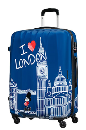 American Tourister trolley disney legend, trolley disney american tourister, valigie disney american tourister