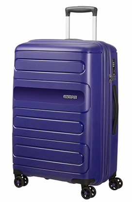 American Tourister trolley sunside