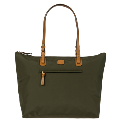 Bric's shopping bag large X-Bag olive BXG45070.078