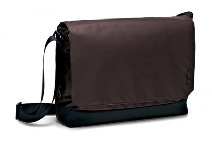 "Picture of Messenger bag 15"" Oxford  Marrone"