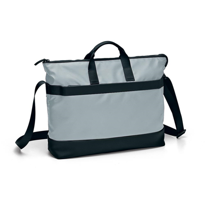 Picture of Bag with two handles and a compartiment for pc and tablet Oxford  Grigio