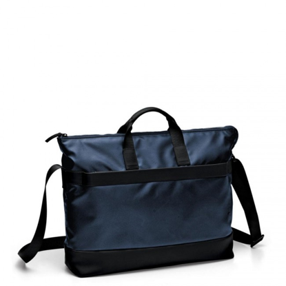 Picture of Bag with two handles and a compartiment for pc and tablet Oxford  Blu