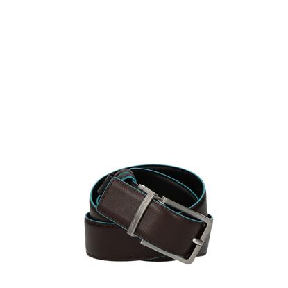 Immagine di Blue Square cintura reversibile in pelle marrone