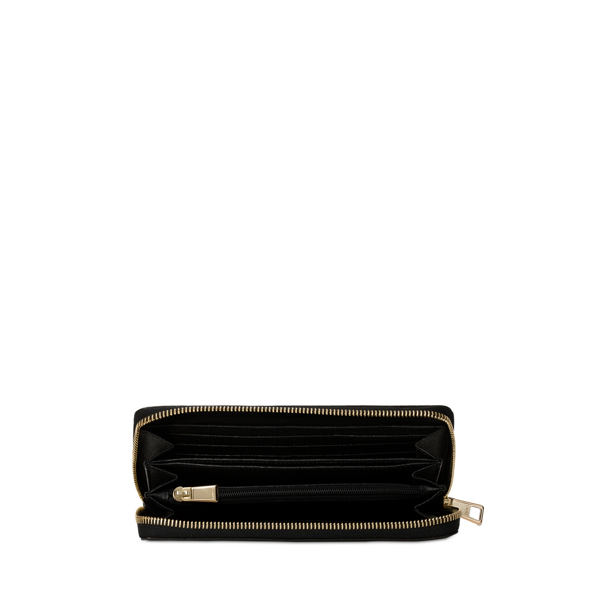 high quality on feet images of reasonably priced Furla portafogli da donna in pelle Babylon XL nero