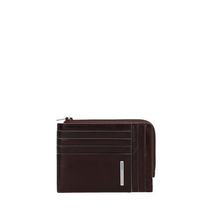 Immagine di Portafoglio con portamonete e portadocumenti Marrone
