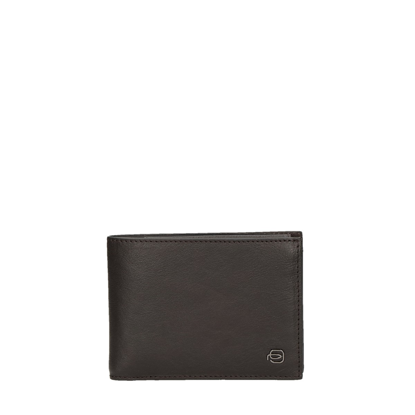 Picture of leather wallet for men vertical brown
