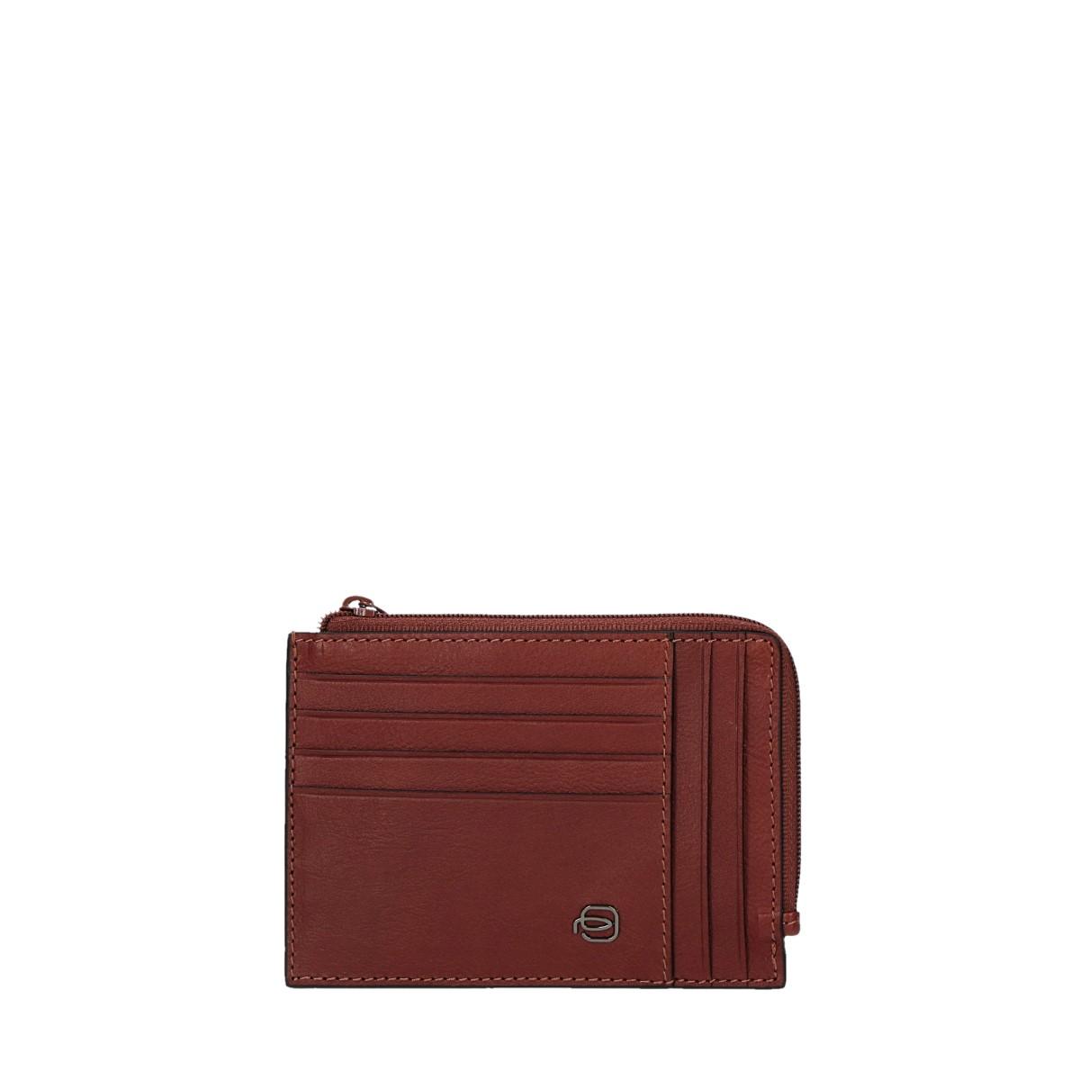 Piquadro Portafoglio porta carte di credito Marrone