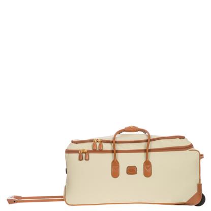 Bric's rolling duffle bag Firenze 72cm Cream BBJ15221.014