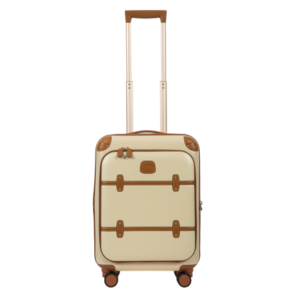 bric's cabin luggage pocket cream