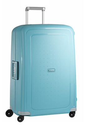Samsonite S Cure 75cm spinner valigia 4 ruote - Aqua blue , Samsonite S Cure spinner 75cm luggage 4 wheels - Aqua blue
