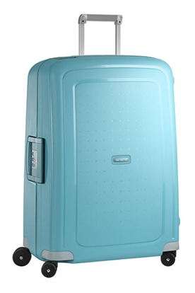 Samsonite S Cure 69cm spinner valigia 4 ruote - Acqua blue , Samsonite S Cure spinner 69cm luggage 4 wheels - Acqua blue