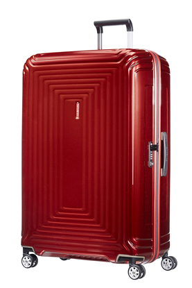 Samsonite valigia Neopulse 81 cm spinner metallic red , Samsonite luggage Neopulse spinner 81 cm metallic red