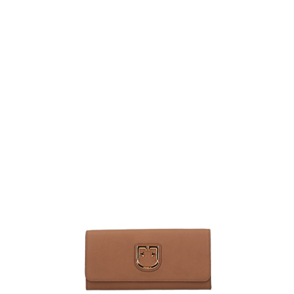 Picture of leather wallet for women Belvedere XL Caramello