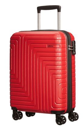 Picture of carry on luggage Mighty Maze 55cm  Red