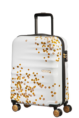 Picture of cabin luggage Wavebreaker dot white