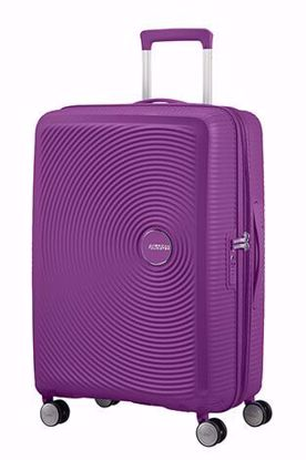 Picture of Soundbox suitcase 67cm M expandable 4 wheels  Purple Orchidea