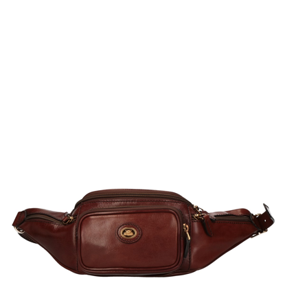 Picture of leather pouch Story Travel brown