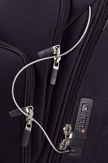 Picture of luggage Spark SNG expandable Black