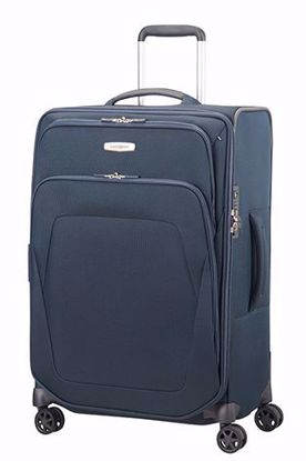 Picture of luggage Spark SNG 67cm expandable Blue