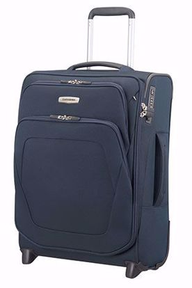 Picture of cabin luggage Spark SNG expandable Blu