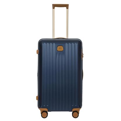 Immagine di valigia baule da viaggio Capri blu