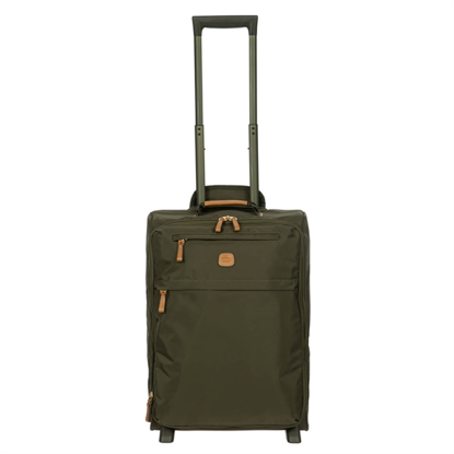bric's cabin luggage x-travel olive front