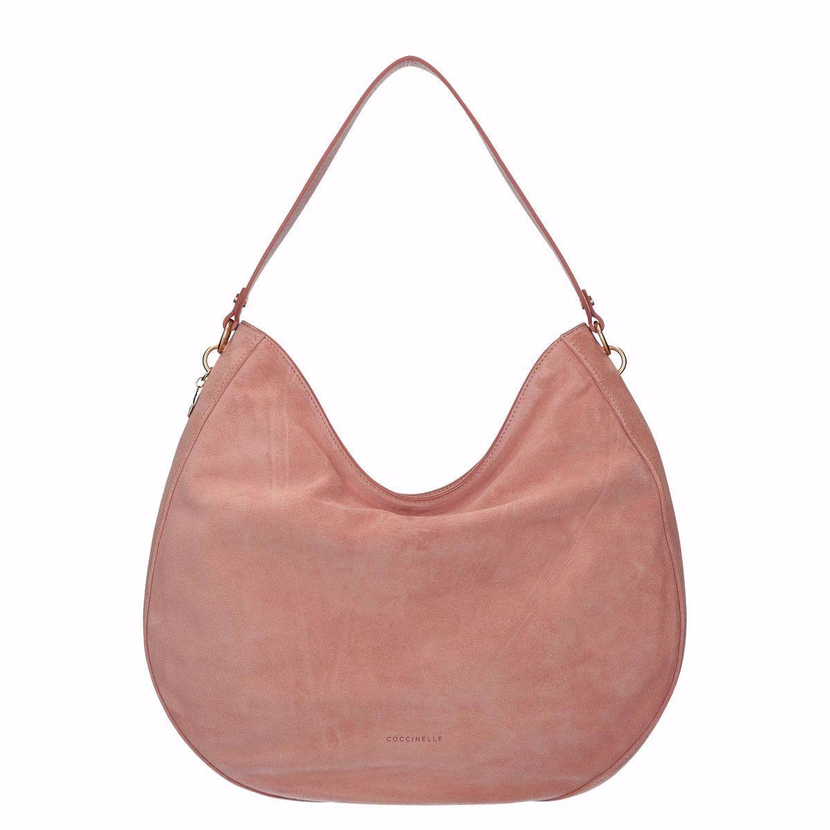 Coccinelle Satchel Bag Alpha Suede Pivoine E1es6130101p13