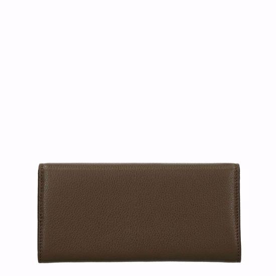 Metallic Soft portafoglio con patella Evergreen