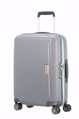 trolley bagaglio a mano Mixmesh 55cm Grey/Capri Blue