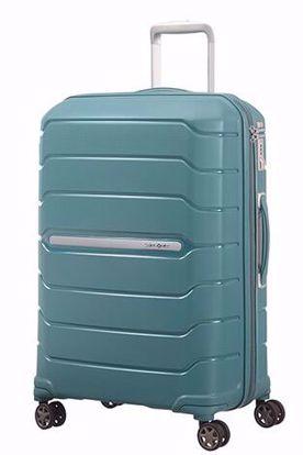 valigia Flux 68cm espandibile Arctic Blue