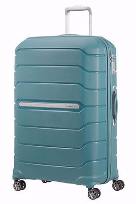luggage Flux 75cm expandable Arctic Blue