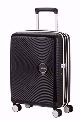 carry on luggage 55cm Black/White