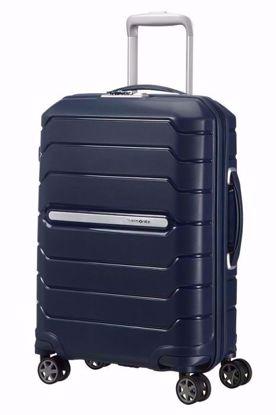 bagaglio a mano Flux 55cm espandibile Navy Blue