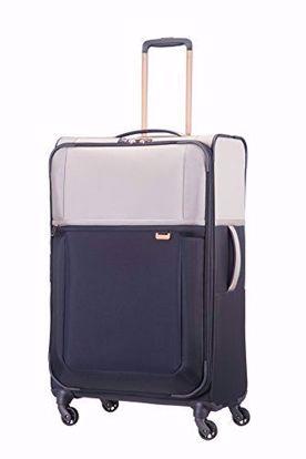valigia Uplite 78cm espandibile Pearl/Blue