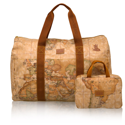 Picture of travel bag with mini beauty Geo Soft  geo natural