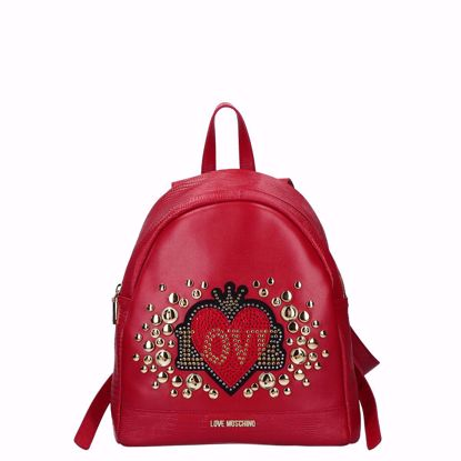 zaino love moschino Full Off rosso