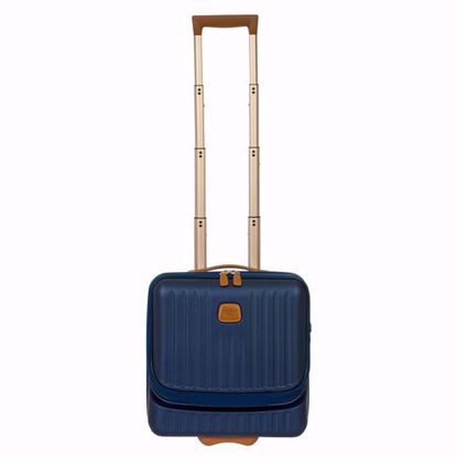 bric's pilot luggage capri blue