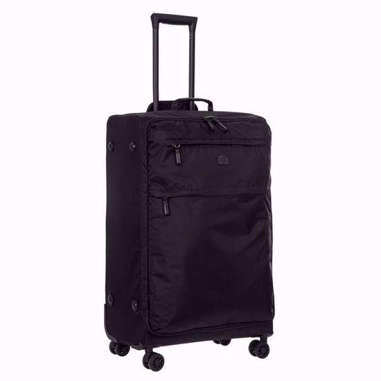 bric's luggage x-travel 77cm all black side