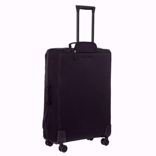 bric's luggage x-travel 77cm all black back