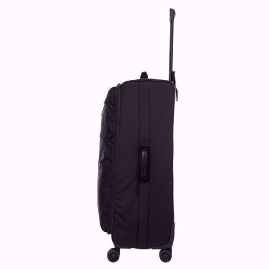 bric's luggage x-travel 77cm all black side 2