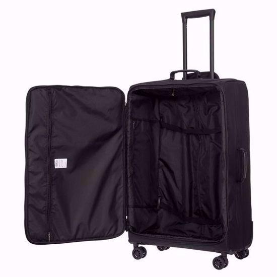 bric's luggage x-travel 77cm all black inner