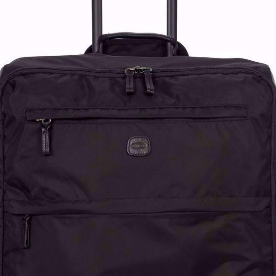 bric's luggage x-travel 77cm all black detail