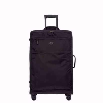 bric's luggage x-travel 77cm all black front