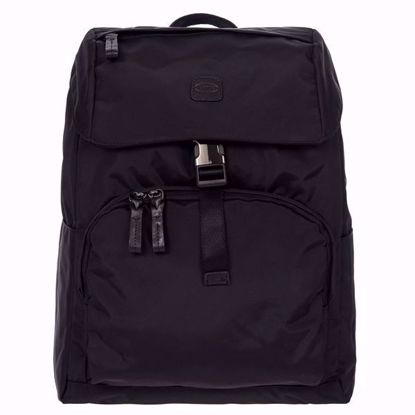 Bric's backpack X-Travel large light black all BXL40599.001