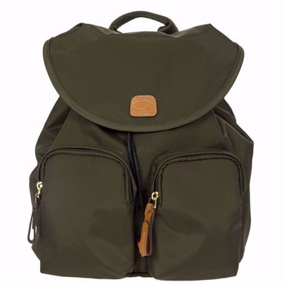 Bric's backpack X-Travel small olive BXL43754.078