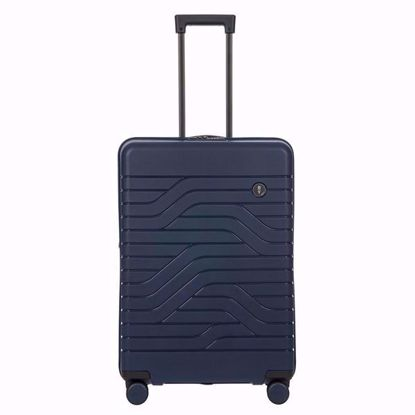 Bric's luggage Ulisse 71cm expandable blue B1Y08431.050