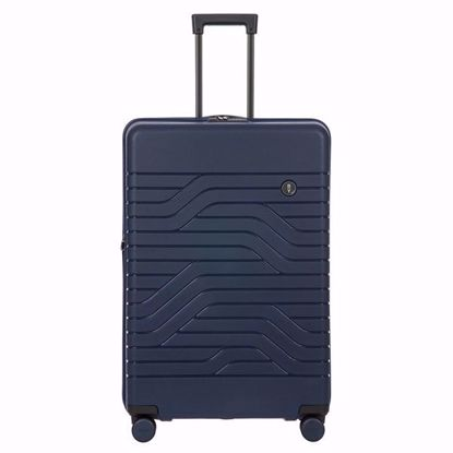 Bric's luggage Ulisse 79cm expandable blue B1Y08432.050