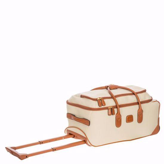 Bric's rolling duffle bag Firenze 55cm Cream BBJ15220.014
