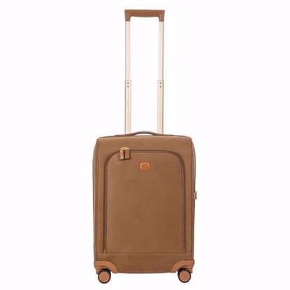 Bric's cabin luggage life 55cm camel BLF05270.216